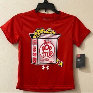 Boys size 4 Under Armour Shirt dri-fit - NWT